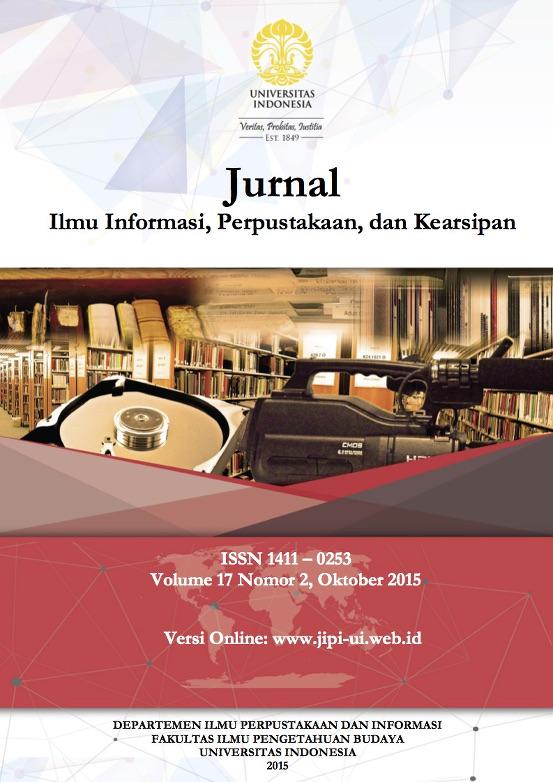 Jurnal Ilmu Informasi, Perpustakaan dan Kearsipan